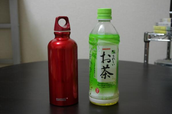 siggとペットボトル